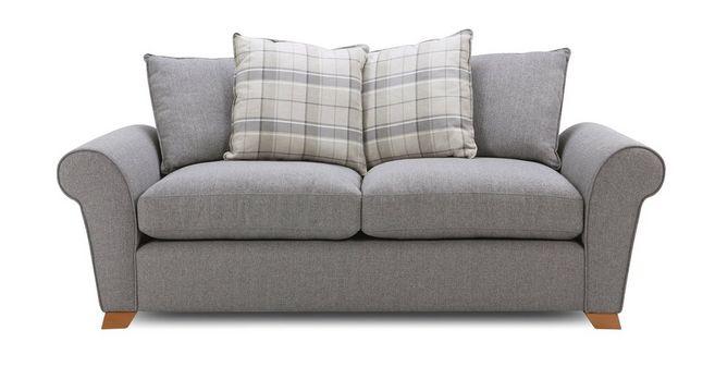 Marvelous Owen Pillow Back 3 Seater Sofa Interior Design Ideas Tzicisoteloinfo