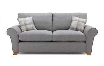 Formal Back 3 Seater Sofa Bed Owen