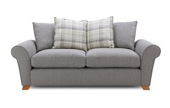 Pillow Back 3 Seater Sofa Bed Owen