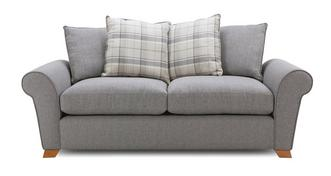 Owen Pillow Back 3 Seater Deluxe Sofa Bed