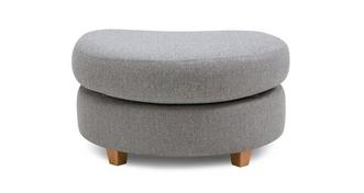 Owen Half Moon Footstool