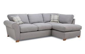 Formal Back Left Hand Facing Arm Corner Sofa