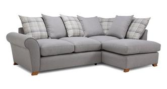 Owen Pillow Back Left Hand Facing Arm Corner Sofa