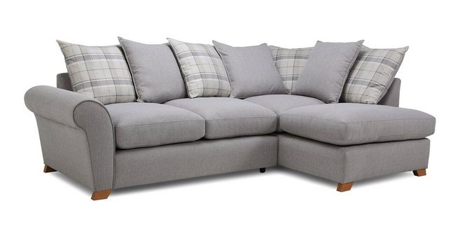 online store 8fa68 29082 Owen: Pillow Back Left Hand Facing Arm Corner Sofa