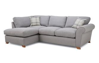 Formal Back Right Hand Facing Arm Corner Sofa Owen