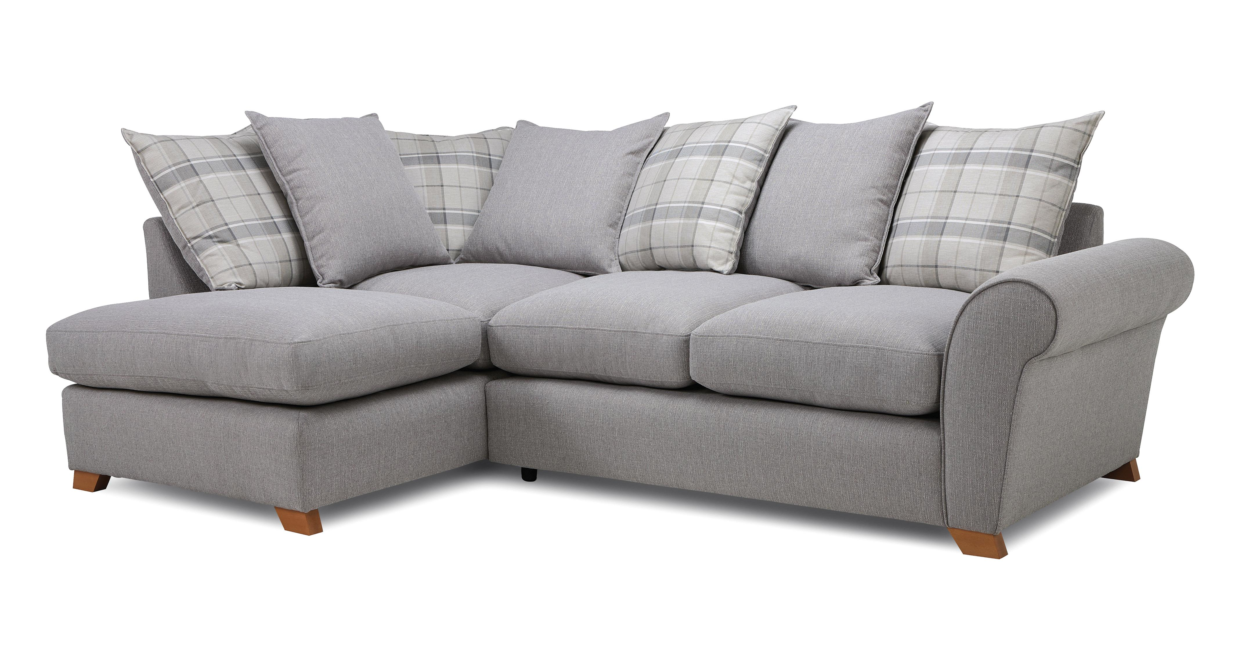 Owen Pillow Back Right Hand Facing Arm Corner Sofa Cotswold Combination Dfs
