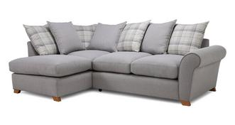Owen Pillow Back Right Hand Facing Arm Corner Sofa