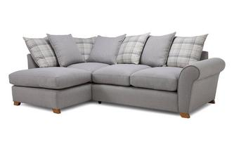 Pillow Back Right Hand Facing Arm Corner Sofa Owen