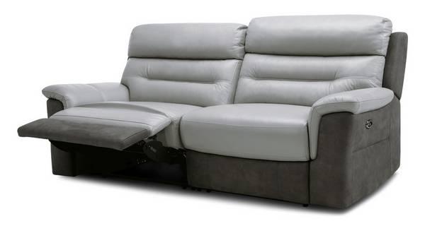 Ozark: 3 Seater Power Recliner Sofa