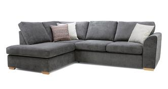 Pacha Right Hand Facing Arm Open End Corner Sofa