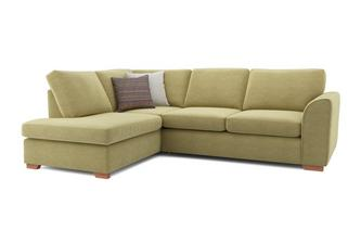 Pacha Right Hand Facing Arm Open End Corner Sofa Sherbet