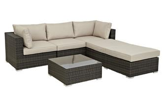 Corner Group PU Rattan
