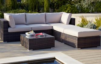 Pacific Corner Group PU Rattan