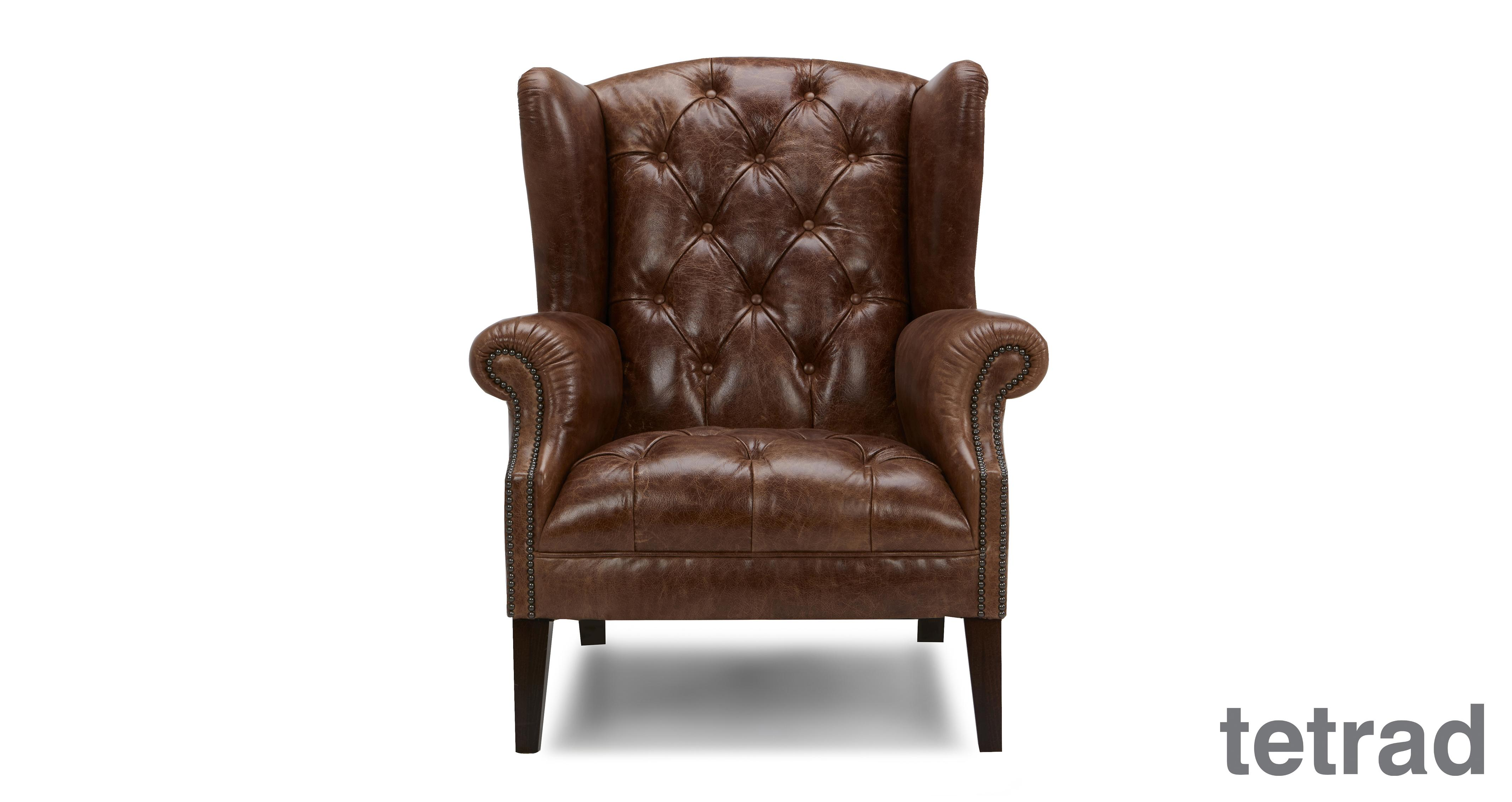 Palace Leather Wing Chair Palace Leather Dfs