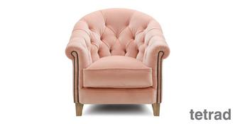 Palace Velvet Accent Chair