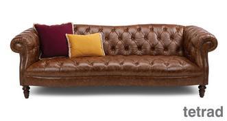Palace Leather 4 Seater Sofa