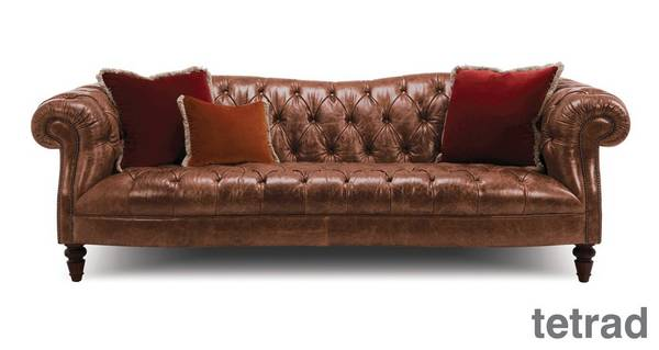 Palace Leather Grand Sofa