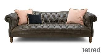 Palace Leather 4 Seater Sofa