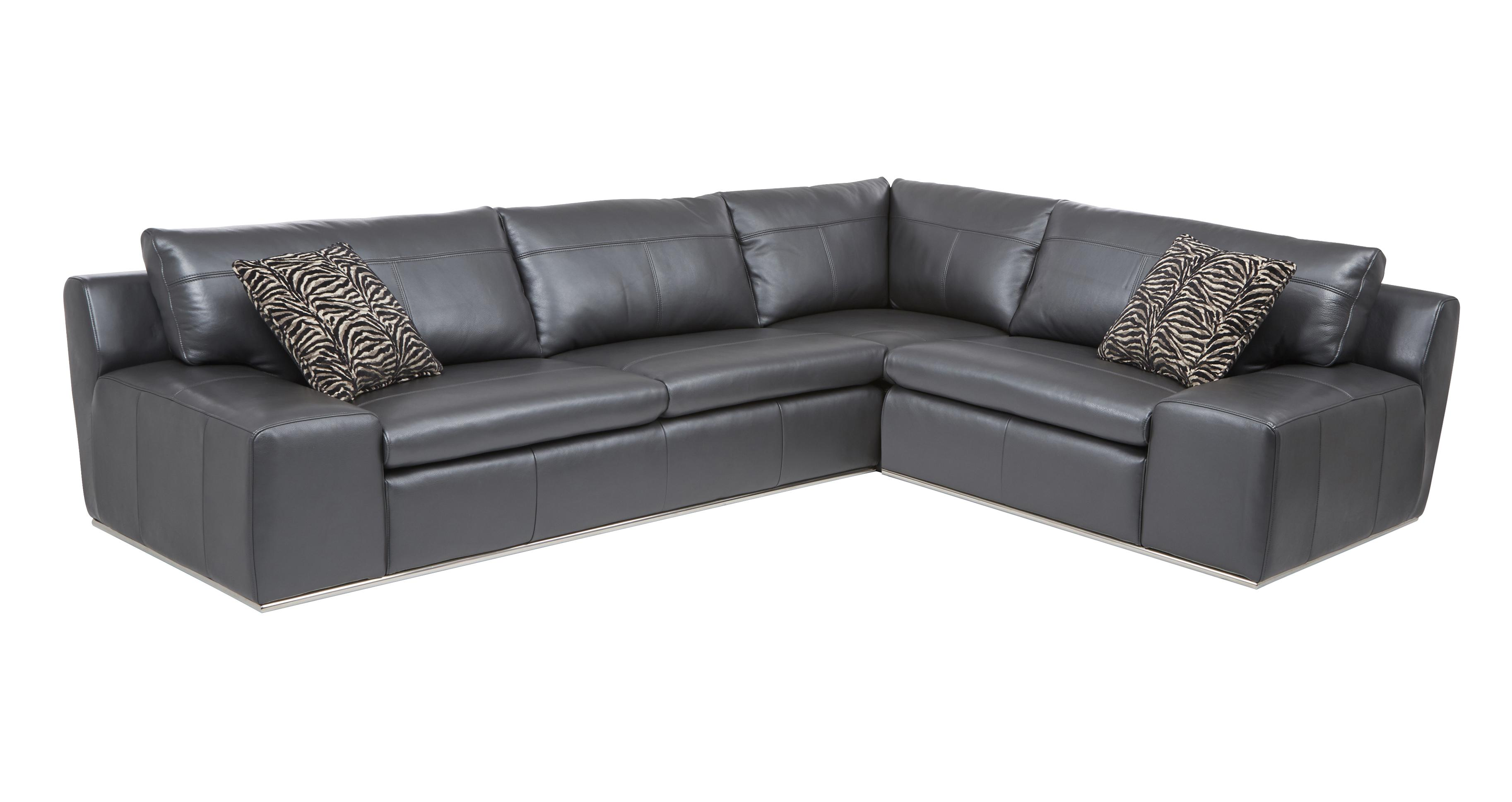 Palladium Option A Left Hand Facing 2 Seater Corner Sofa Fuse ...