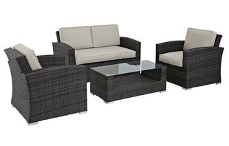 Palma 2 Seater Sofa Set PU Rattan