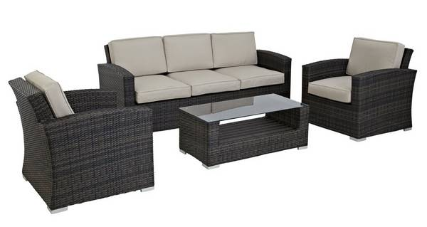 Palma 3 Seater Sofa Set