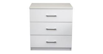 Palm Bay 3 Drawer Bedside Chest
