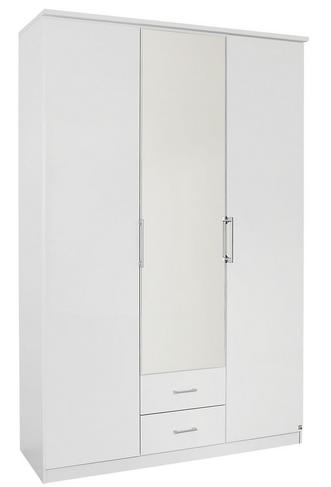 Palm Bay 3 Door Bi Fold Mirror Robe