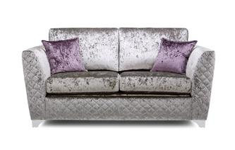 Panache 2 Seater Formal Back Deluxe Sofa Bed Krystal