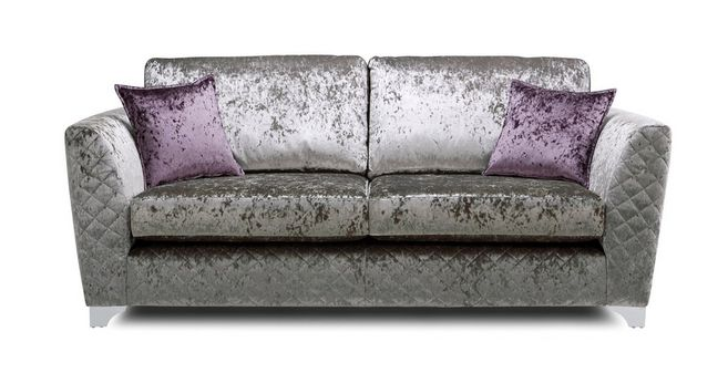 Merveilleux Panache 3 Seater Formal Back Sofa Krystal Dfs