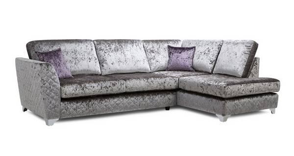 Panache Left Hand Facing Formal Back Corner Sofa