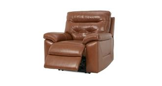 Paradise Leather and Leather Look Electric Recliner Chair