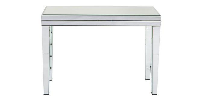 Style Of Paradox Mirrored Console Table Minimalist - 36 console table Review