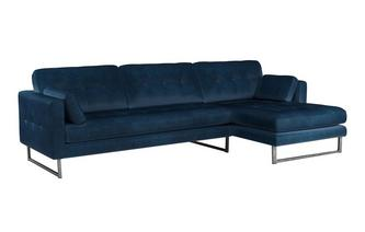 Right Hand Facing 4 Seater Chaise End Sofa
