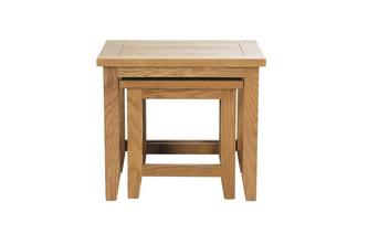 gxd parker nest of tables parker oak
