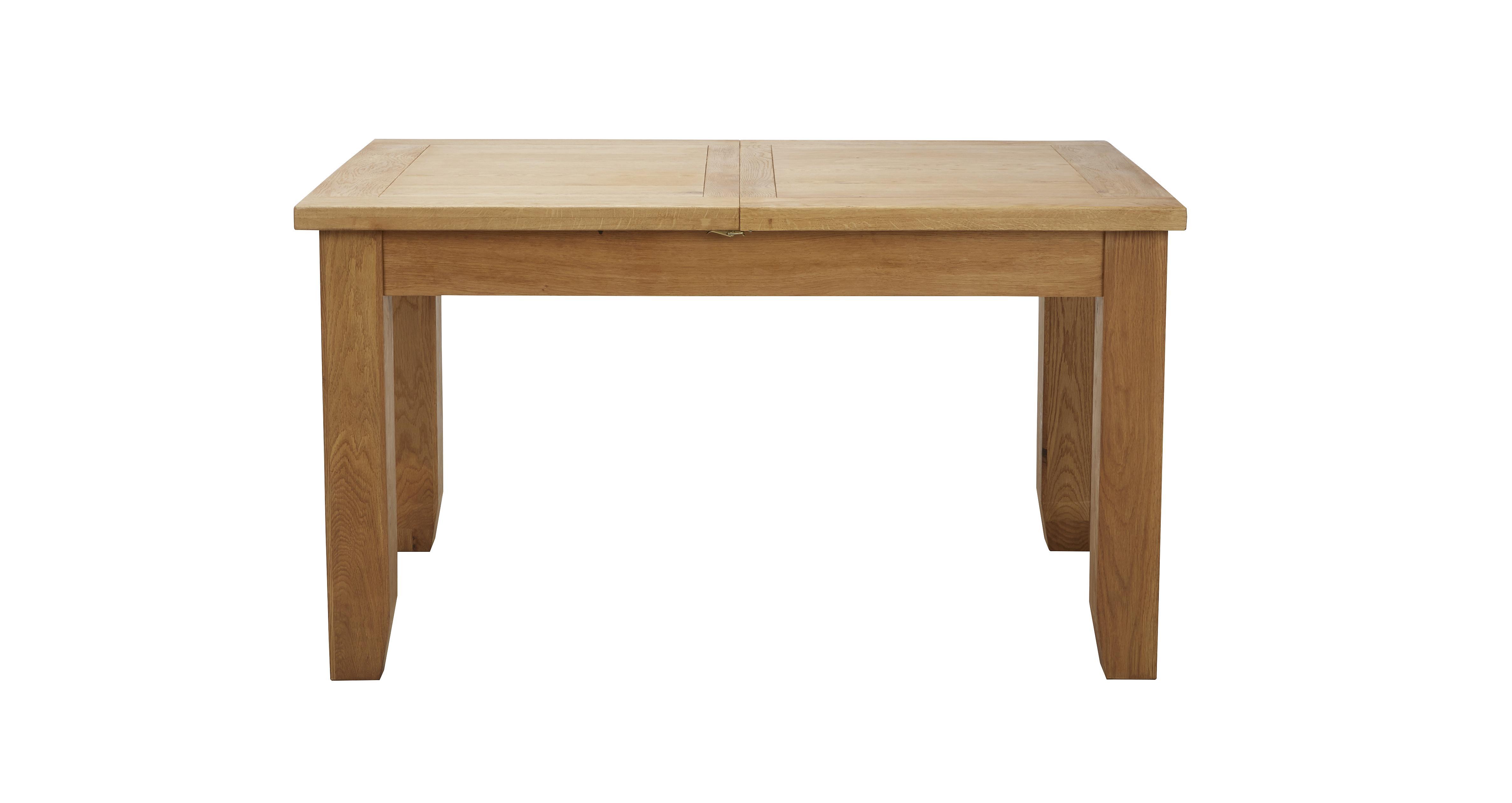 Parker extending dining table parker oak dfs ireland for Dining room tables dfs