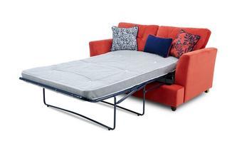 Velvet 2 Seater Deluxe Sofa Bed