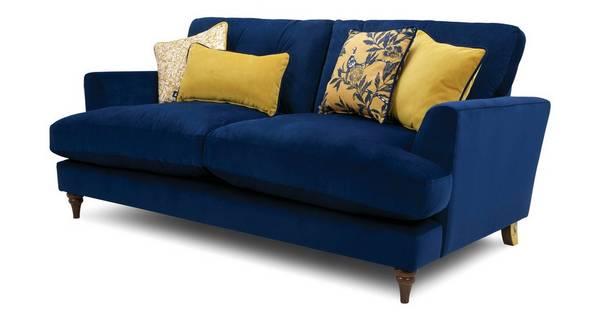 Patterdale Velvet 3 Seater Sofa Patterdale Velvet Dfs