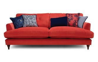 Velvet 4 Seater Sofa Patterdale Velvet