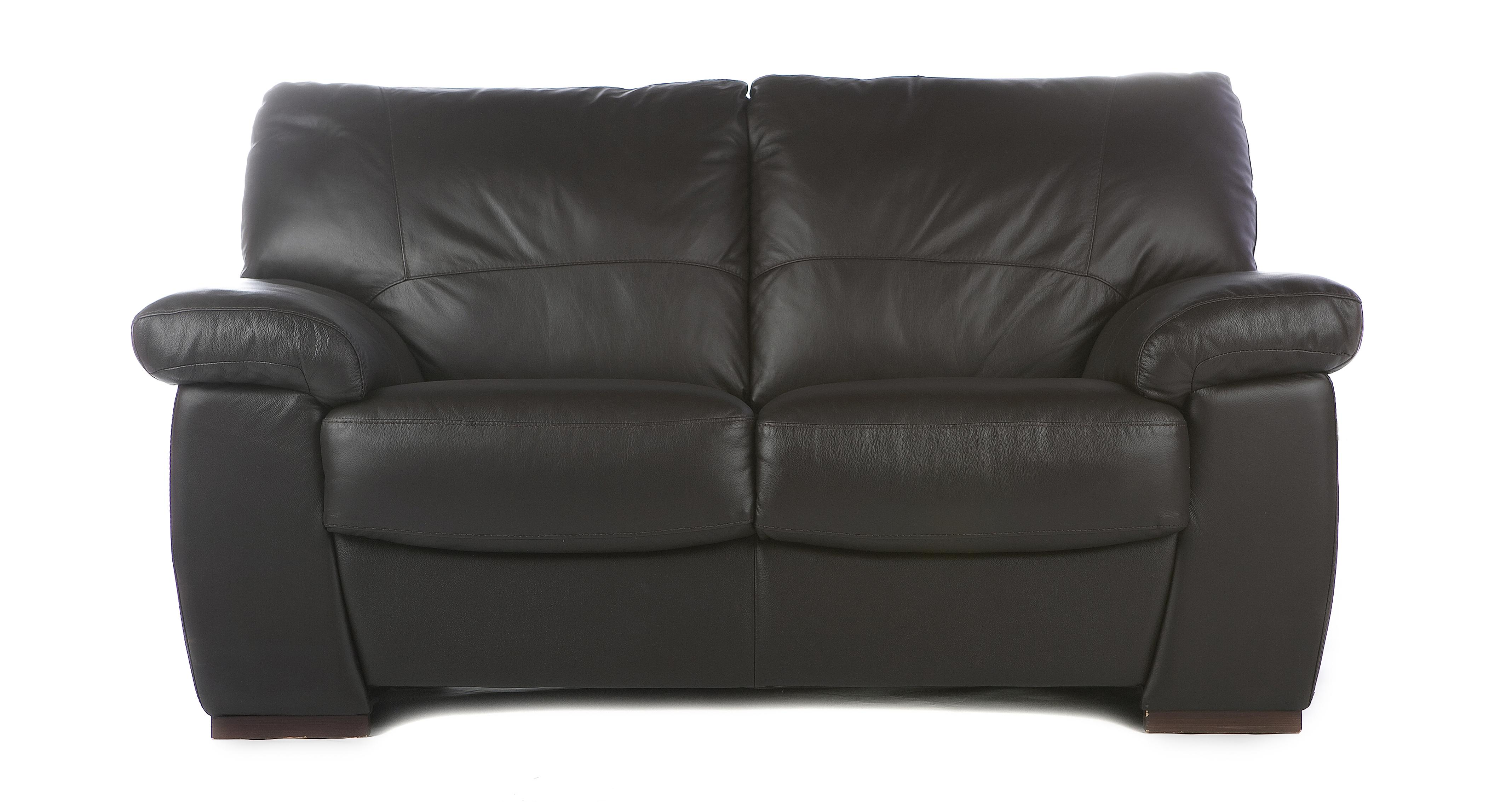 Pavilion Leather and Leather Look 2 Seater Sofa Essential