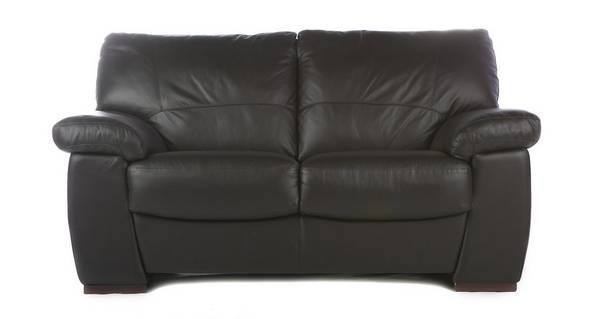 Pavilion Leather and Leather Look 2 Seater Sofa