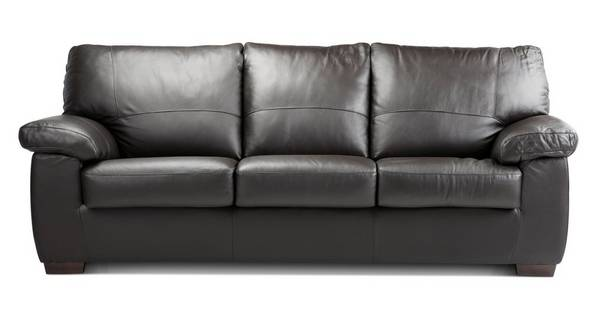 Pavilion 3 Seater Sofa Bed Essential Dfs, Black Leather Sofa Bed Couch