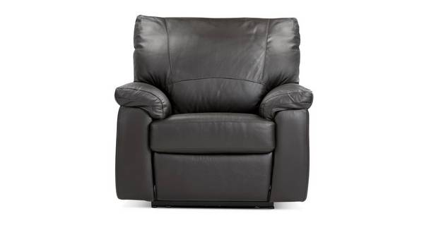 Pavilion Leather and Leather Look Electric Recliner Chair