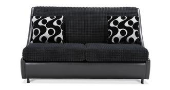 Pax 2 Seater Compact Formal Back Sofa Bed