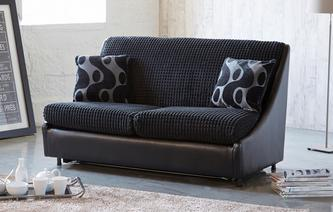 Pax 2 Seater Compact Formal Back Sofa Bed Pax