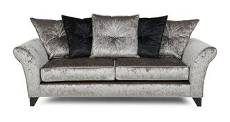 Pearl 3 Seater Pillow Back Sofa