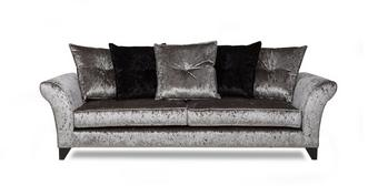 Pearl 4 Seater Pillow Back Sofa