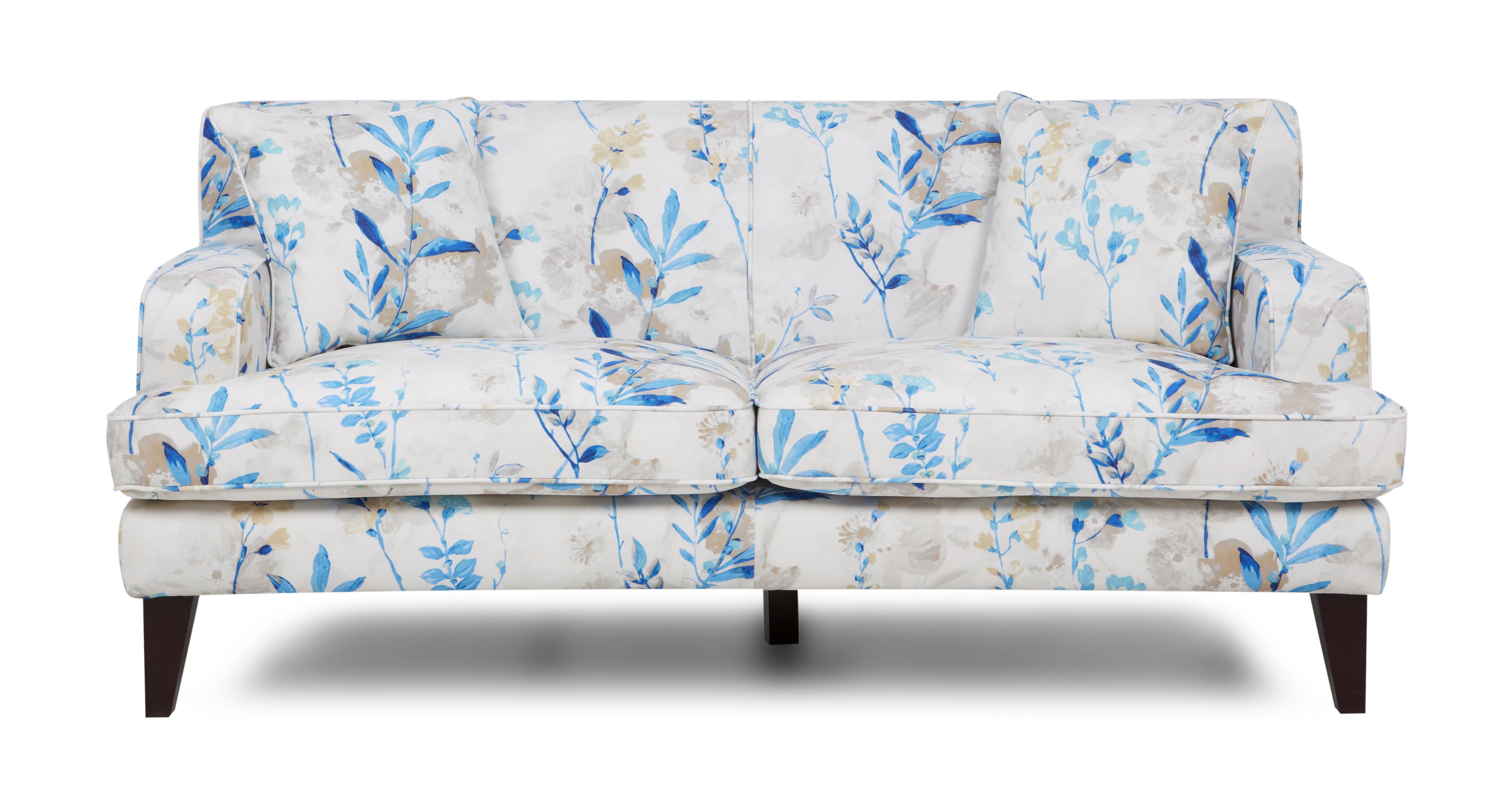 Floral Sofa penelope floral 3 seater sofa penelope floral | dfs