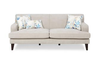 Plain 3 Seater Sofa Penelope