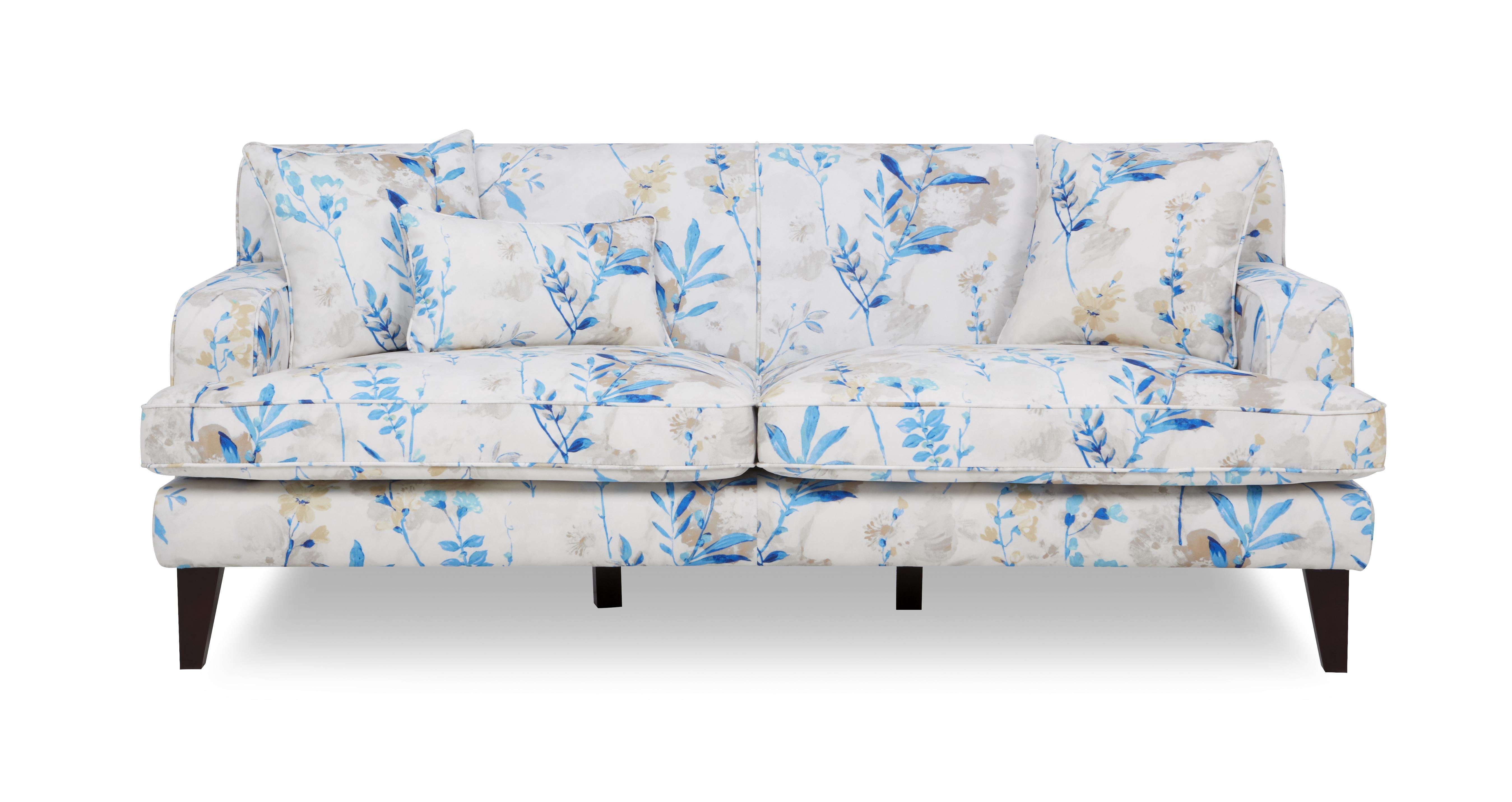 Penelope Floral 3 Seater Sofa Penelope Floral