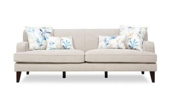 Plain 4 Seater Sofa